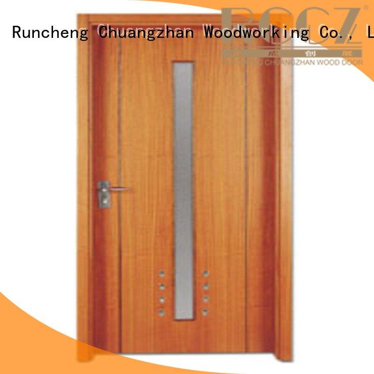 Custom wooden flush door flush door door Runcheng Woodworking
