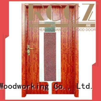 Runcheng Woodworking Brand l0082 x0092 x0252 solid wood bathroom doors x0102