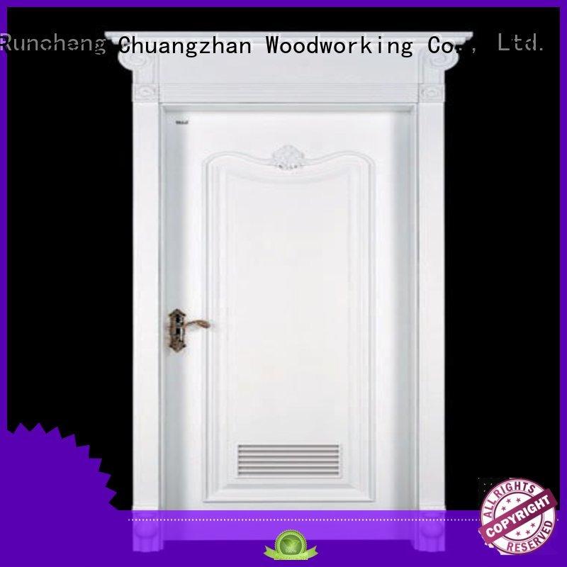 sunshine latest designed mediterranean sunshine mdf composite wooden door Runcheng Woodworking