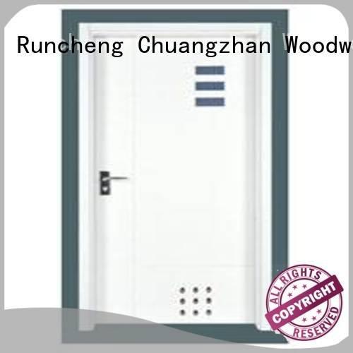 flush mdf interior wooden door pp0093 pp003t pp007t3 pp0011 Runcheng Woodworking