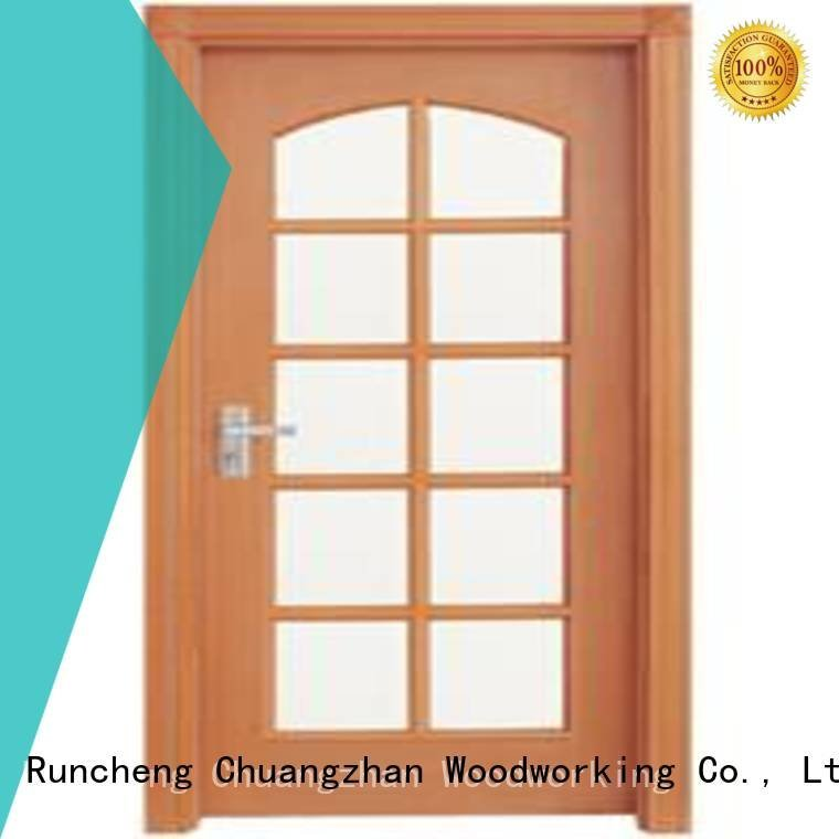 Runcheng Woodworking Brand x0104 x0233 x0143 wooden double glazed doors x0234