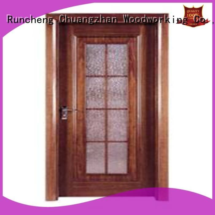 Runcheng Woodworking Brand pp005 flush mdf interior wooden door pp0123 pp009