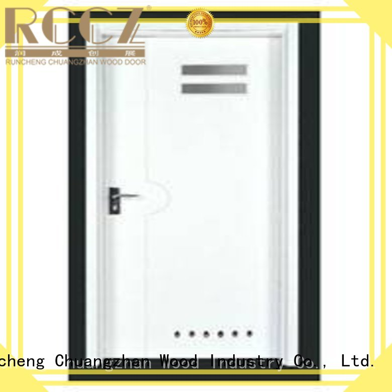 Runcheng Chuangzhan Brand durable flush hot selling plywood flush internal doors door