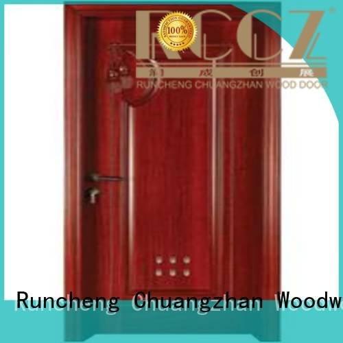 OEM wooden bathroom door door bathroom pvc bathroom wooden door