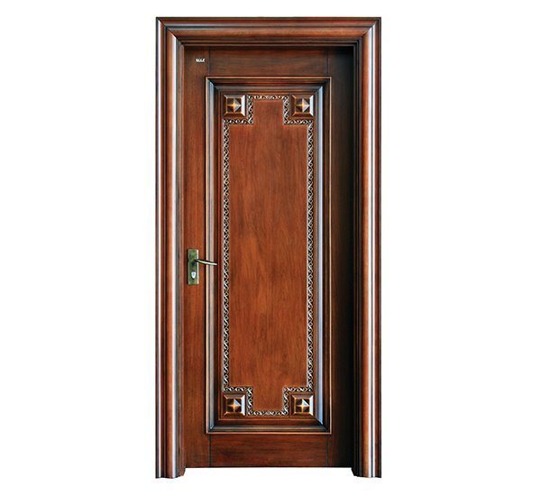 S031 Interior pure solid wooden door